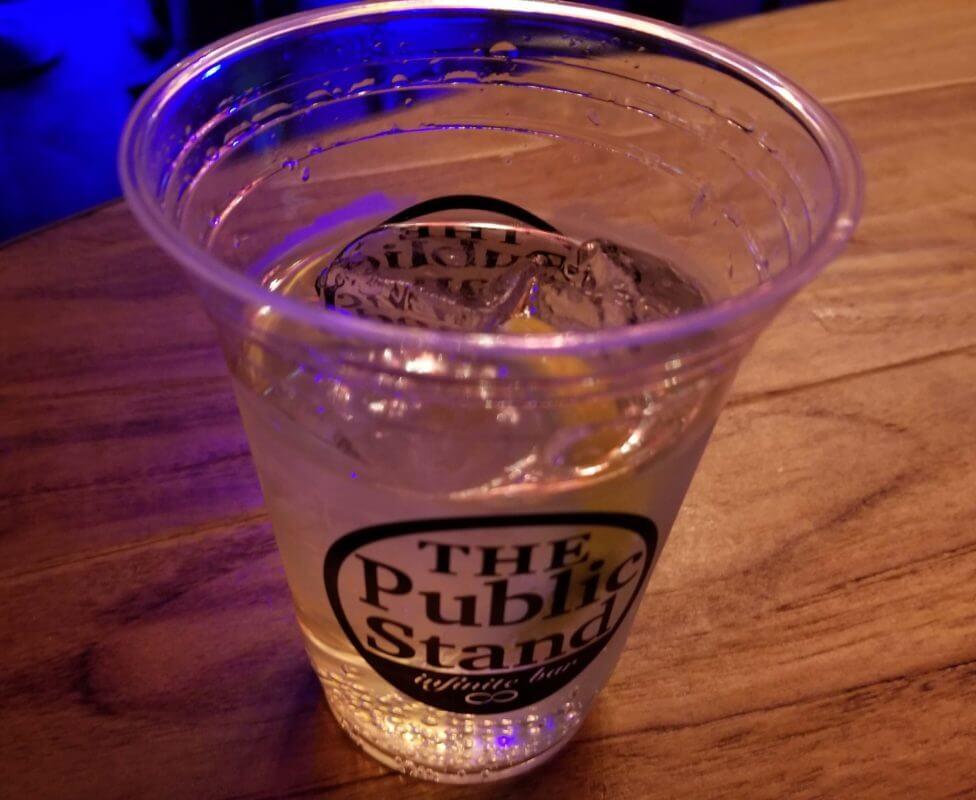 パブスタのグラス