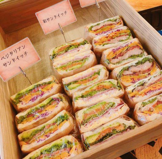 赤坂店のサンドイッチ