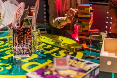 パブリックスタンドに置いてあり自由に遊べるテーブルゲーム