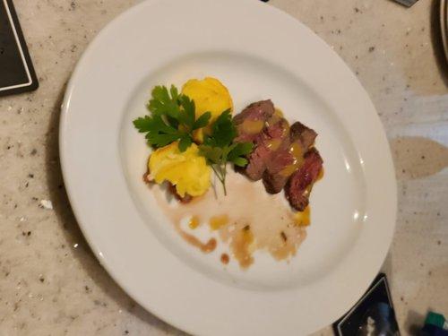 ミラスの牛ハラミのステーキ